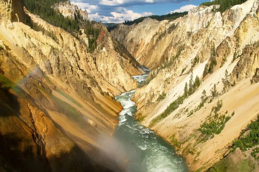 Yellowstone River wallpaper 1920x1080 jpg