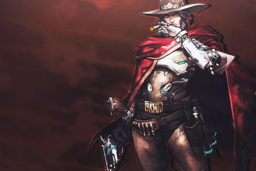 amazing mccree wallpaper 1920x1080 tablet
