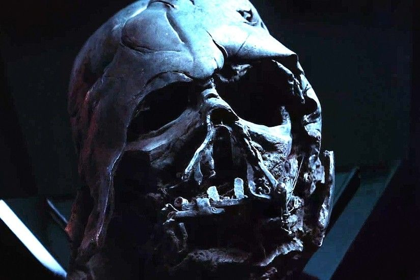 Broken Mask Darth Vader Wallpaper