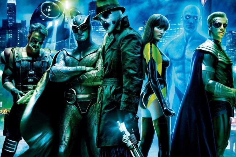 Watchmen, Movies, Rorschach, Dr. Manhattan, The Comedian, Nite Owl,  Ozymandias, Silk Spectre Wallpapers HD / Desktop and Mobile Backgrounds