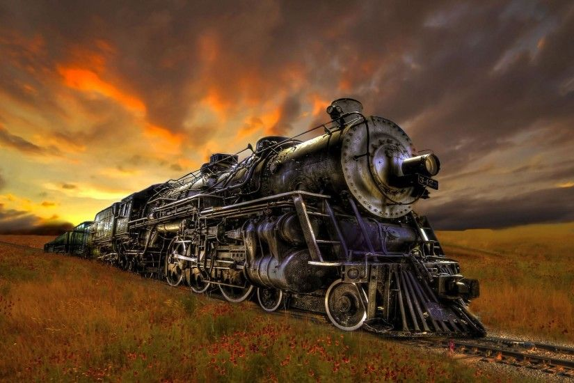 Steam Train Wallpaper HD