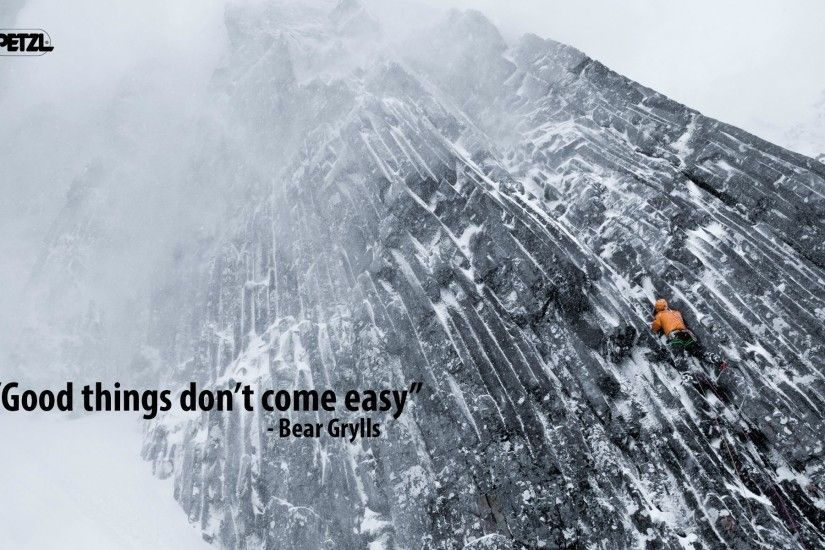 Simple motivation from Bear Grylls : Motivated.us your motivation .