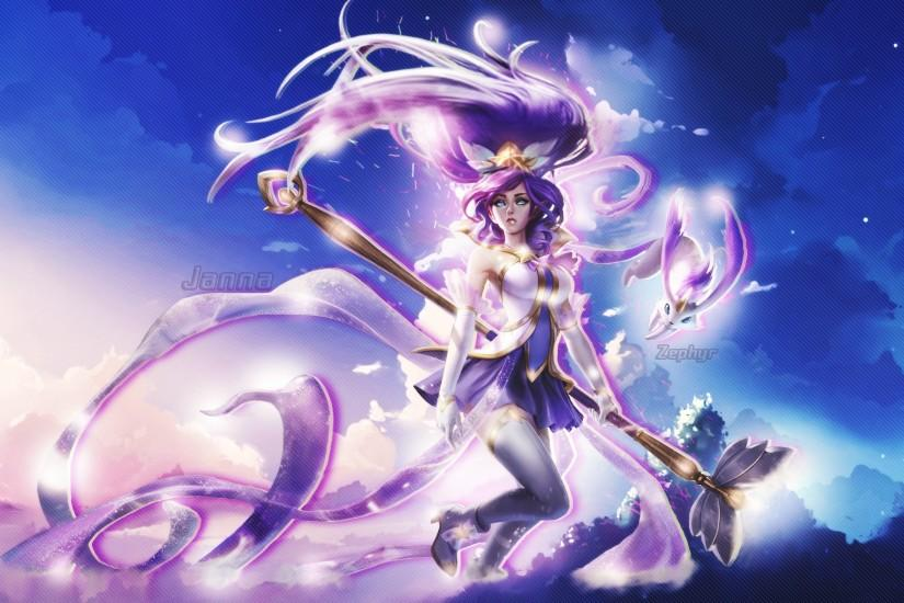 Star Guardian Janna Wallpaper by Rafasperry Star Guardian Janna Wallpaper  by Rafasperry