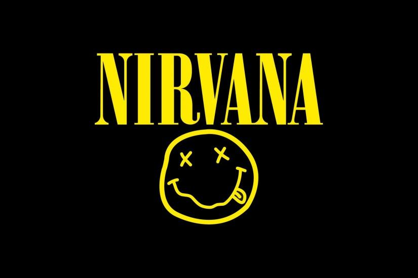 Nirvana Logo Vector Desktop Wallpaper