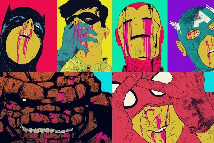 Awsome work by the Queens of the Stone Age artist, Boneface