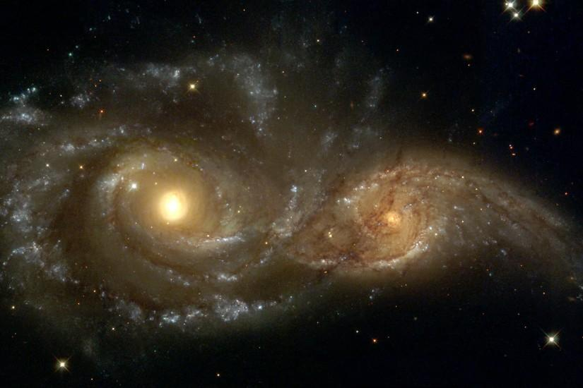 Galactic Collisions wallpaper - Click picture for high resolution HD  wallpaper