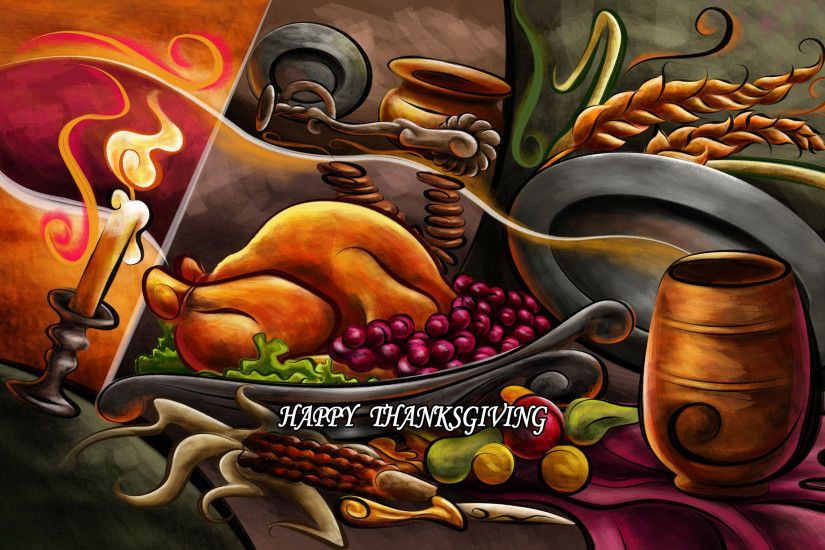 Thanksgiving Widescreen Background