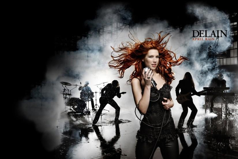 People 1920x1200 Charlotte Wessels singer Delain symphonic metal band