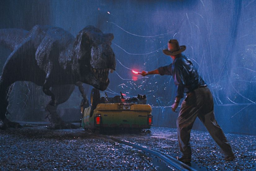 Jurassic Park T-Rex Flare Distraction HD Wallpaper - Cool Wallpapers