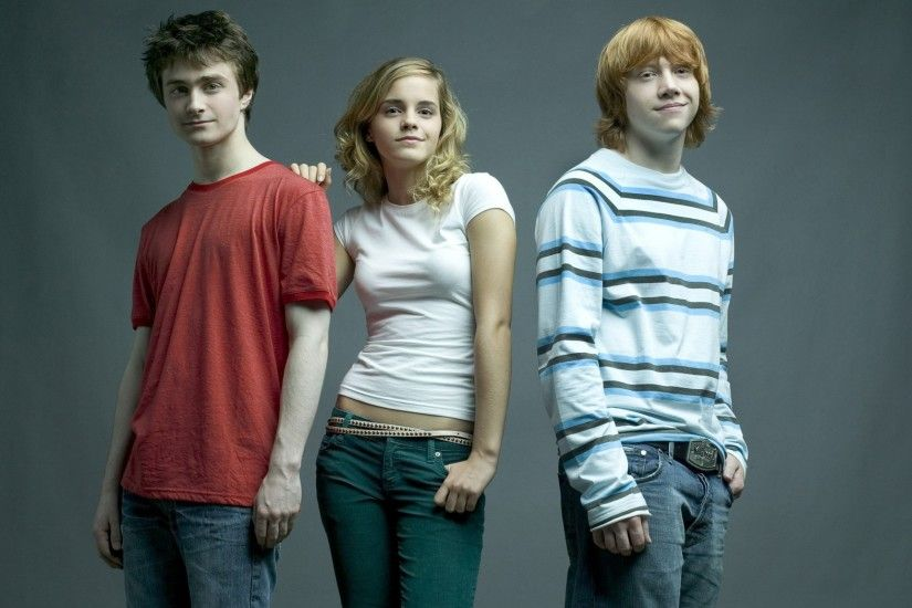 Harry Potter Hermione Granger Ron Weasley 755158 ...
