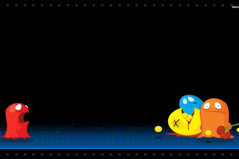 hd wallpapers tags funny pac man description funny pacman wallpaper .