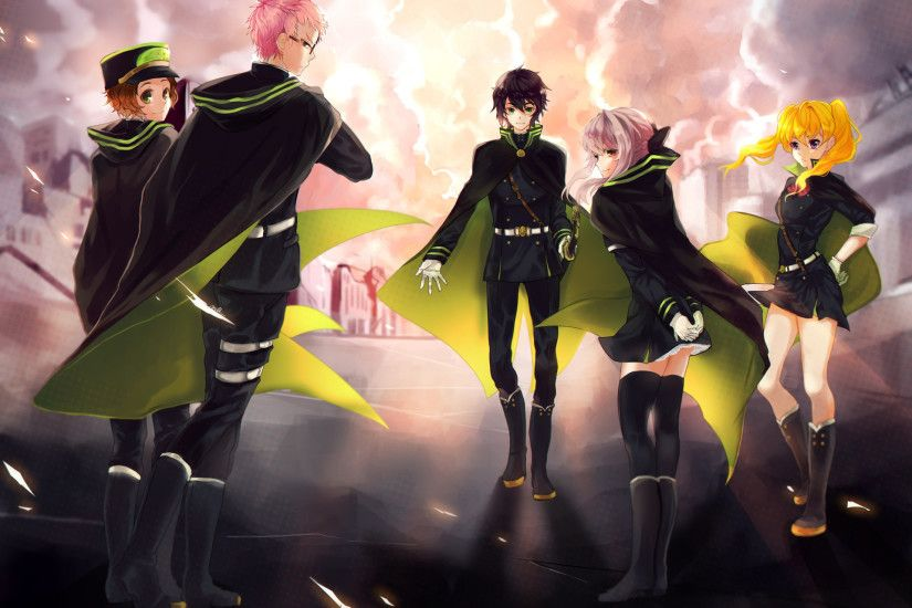 Owari no Seraph HD Desktop Wallpaper