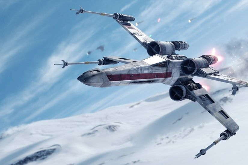 X Wing Wallpaper Star Wars Battlefront