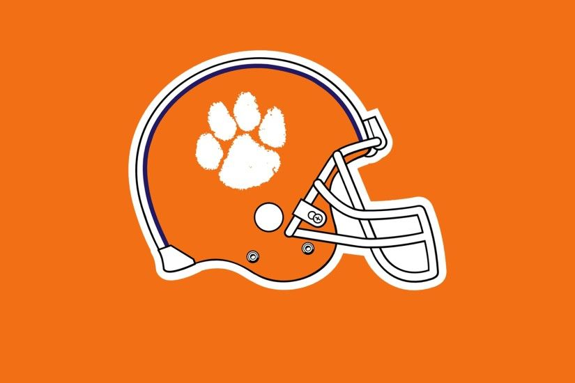 3840x2160 Wallpaper clemson tigers, football, logo
