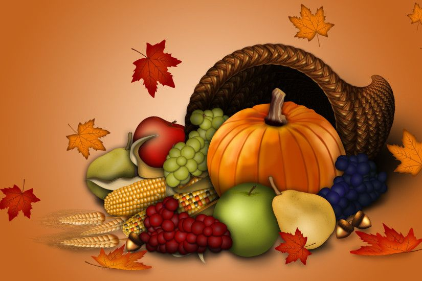 Happy Thanksgiving Background Wallpaper HD for desktop.