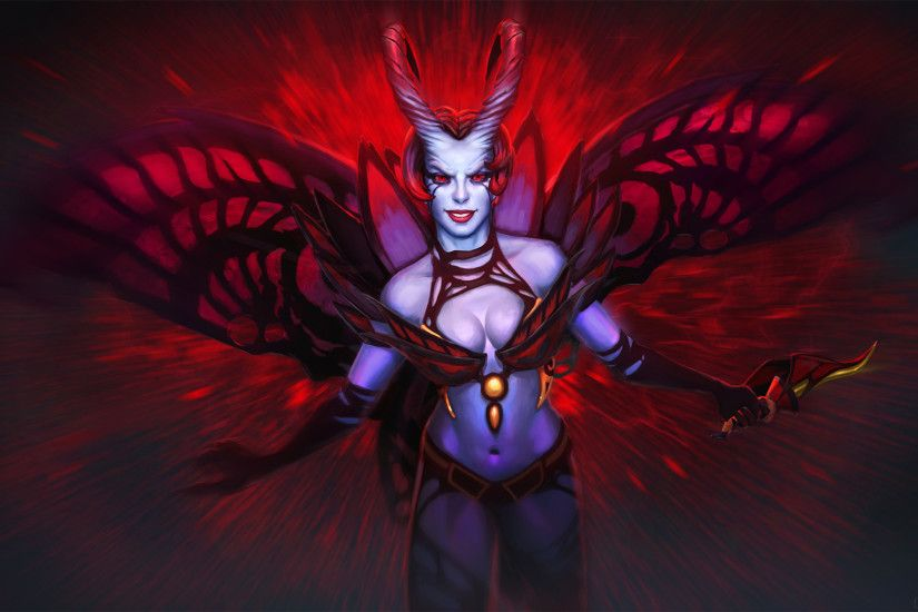 Akasha - The Queen of Pain / DOTA 2 by neonkiler99 on DeviantArt ...