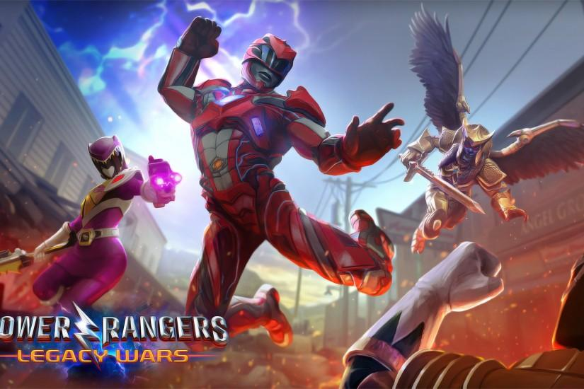 Power Rangers Legacy Wars 4k