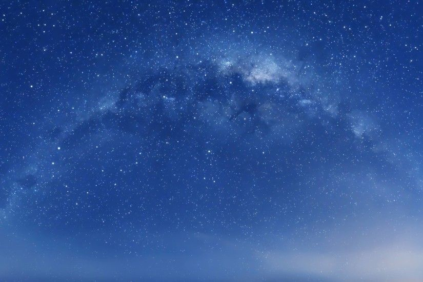 milky way · Rice paddy wallpaper