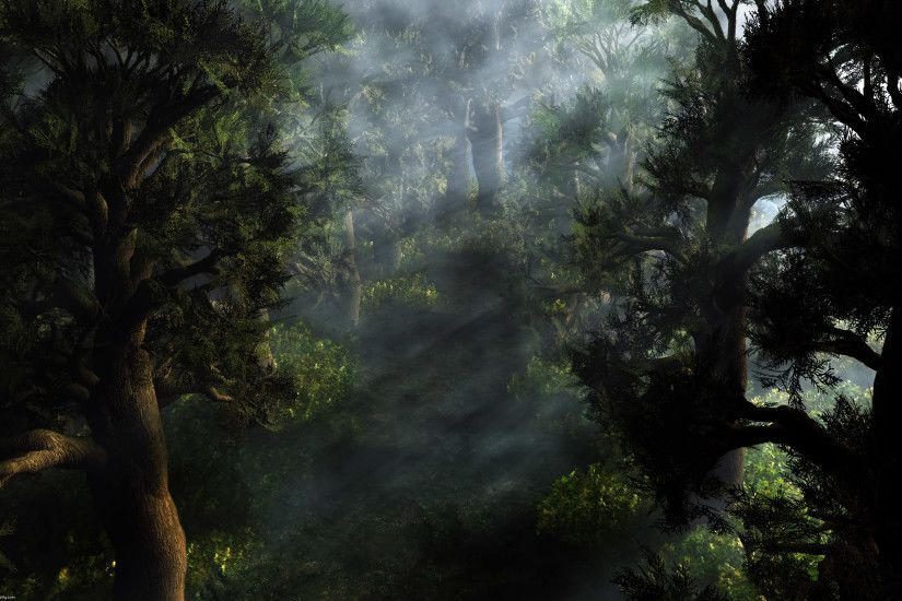 Jungle CGI Wallpaper