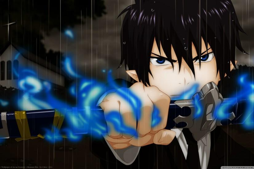 full size blue exorcist wallpaper 2560x1600 for mac