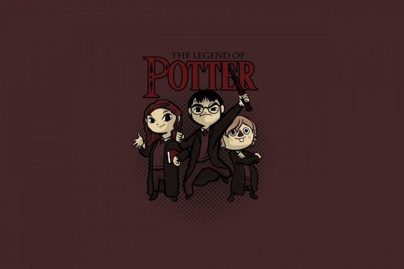 Legend Of Potter Wallpaper