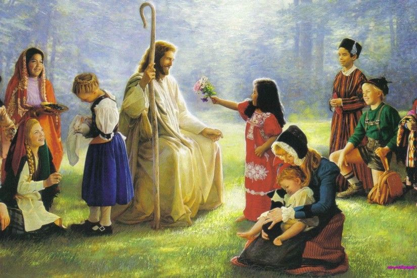 Jesus Wallpapers Images HD kids