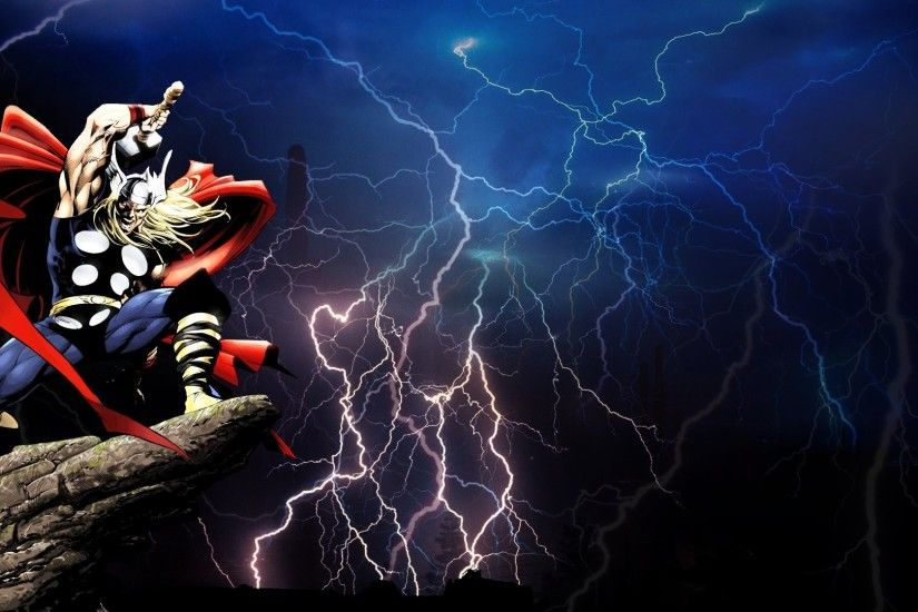 comics, Thor Wallpaper HD