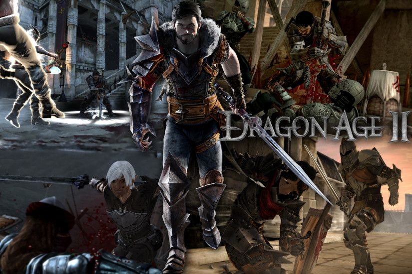 Dragon Age 2 wallpaper by ReplayCZ Dragon Age 2 wallpaper by ReplayCZ