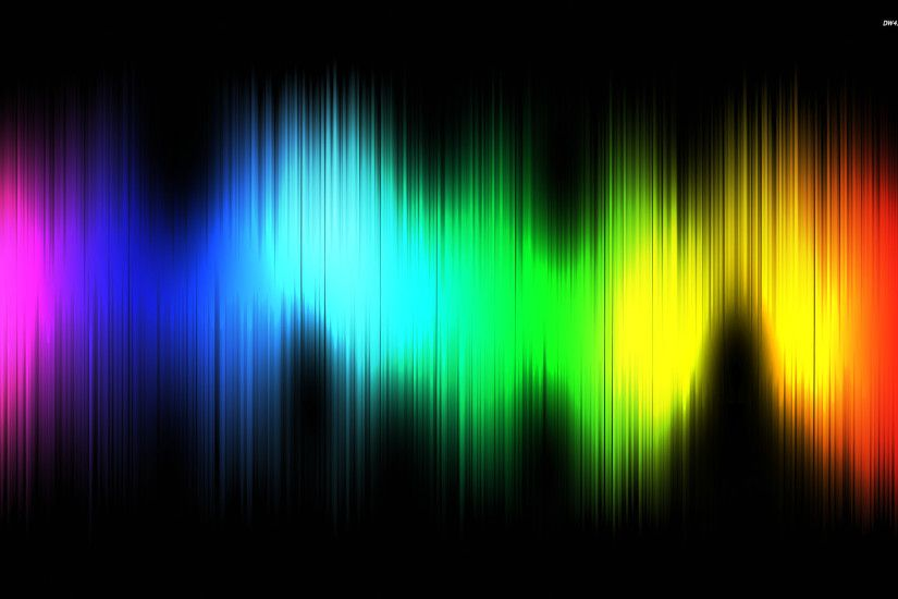 Pics Photos - Colorful Sound Waves Wallpapers