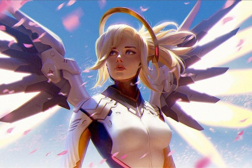 mercy overwatch wallpaper 1920x1080 for iphone 7