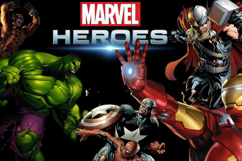 ... 147 Marvel Comics HD Wallpapers | Backgrounds - Wallpaper Abyss ...