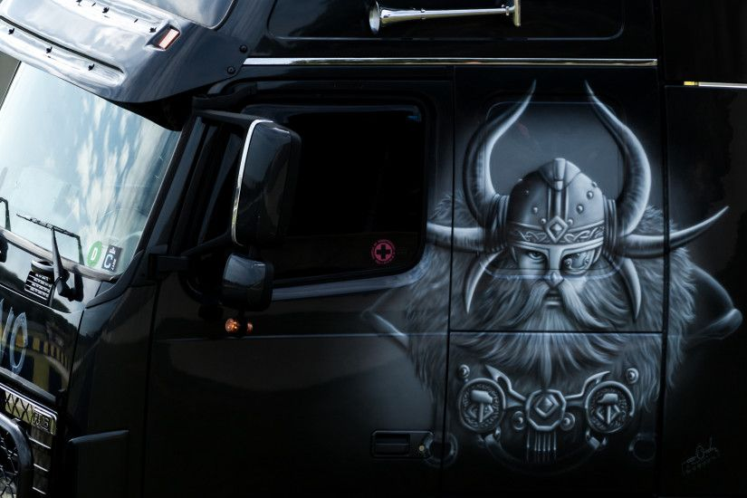 volvo fh16 tuning viking style wallpaper