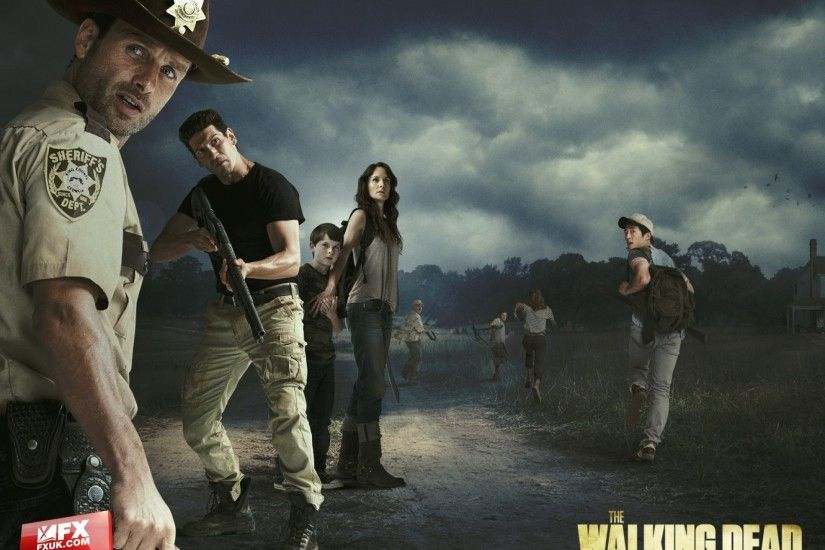 walking dead the walking dead tv series sarah wayne callies rick grimes  andrew lincoln zombie apocal