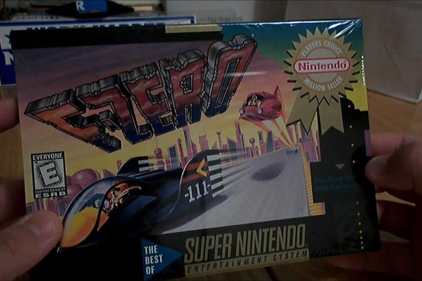 Super Nintendo SNES Game Unboxing - Factory Sealed F-Zero (1994) [HD] -  YouTube