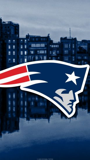 ... New England Patriots city 2017 logo wallpaper free iphone 5, 6, 7,  galaxy