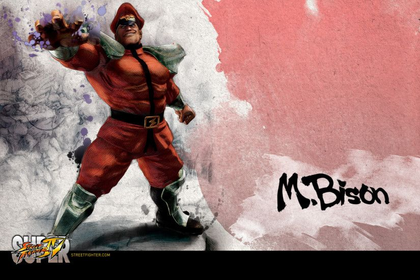 Super Street Fighter 4 M.Bison Vega Wallpaper