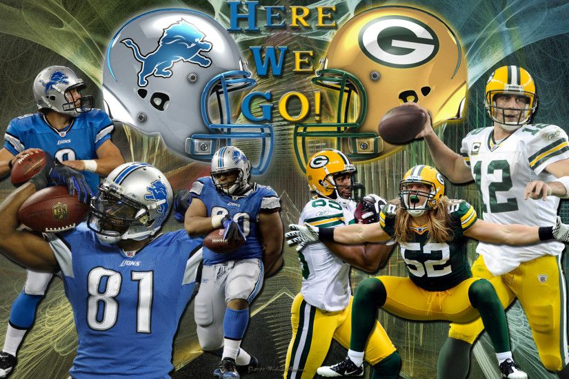 Wallpapers By Wicked Shadows: Detroit Lions Vs Green Bay .