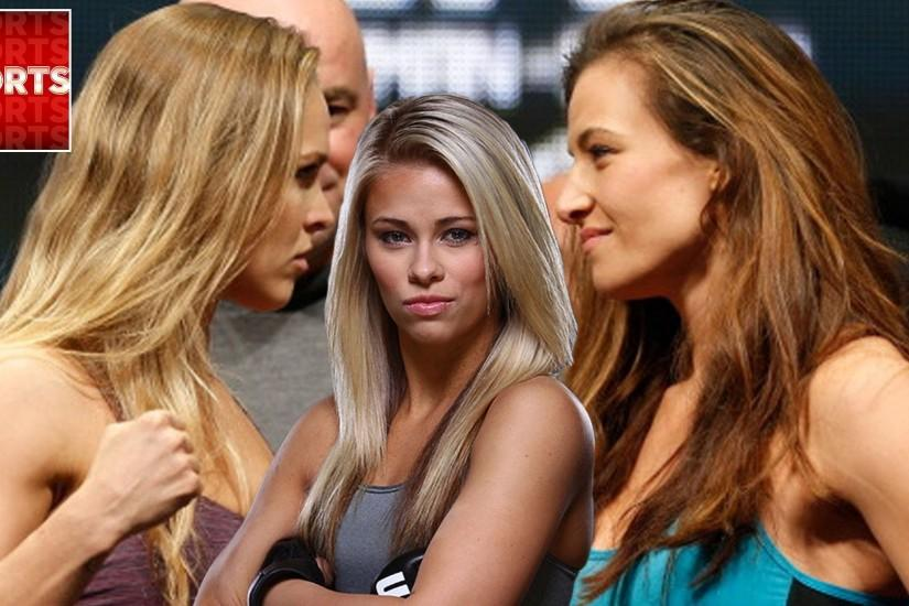 Miesha Tate Explains 'Shocking' Incident Between Ronda Rousey and Paige Van  Zant - YouTube