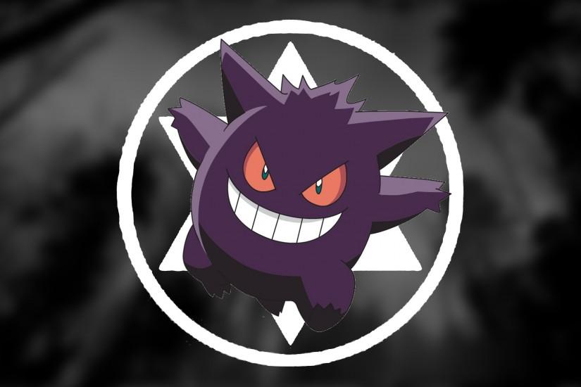 full size gengar wallpaper 1920x1080 for phone