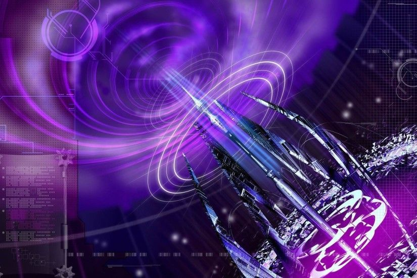 Wallpapers For > Cool Purple Abstract Background