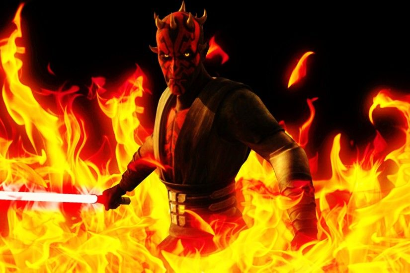 ... The Clone Wars Darth Maul Wallpaper by Jones6192