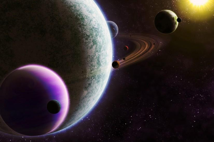 Free Download Solar System Image.