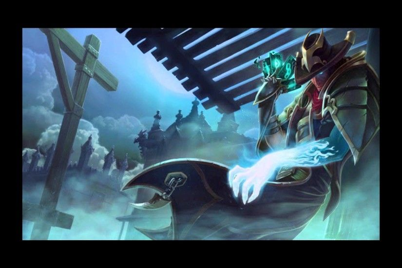 League of legend Twisted Fate des enfers skin spotlight