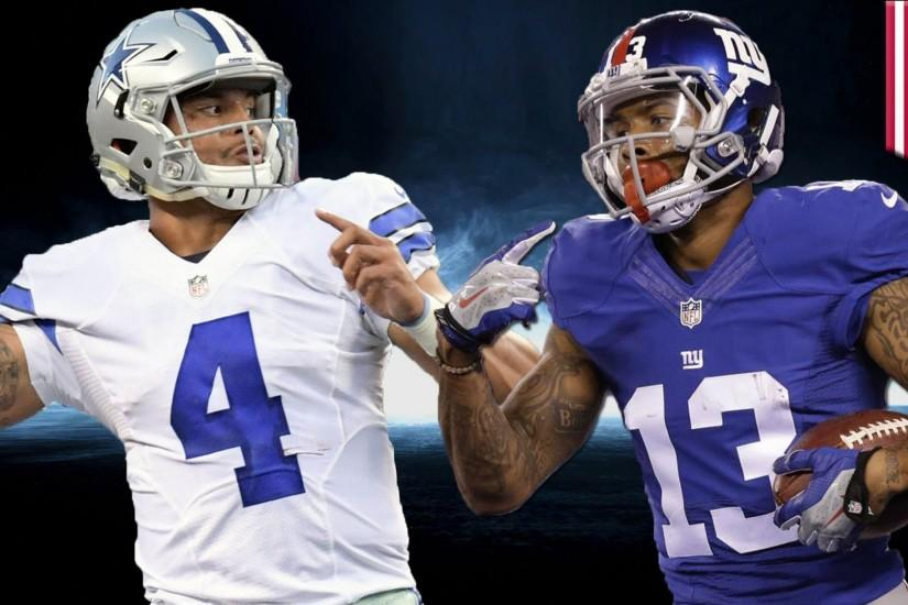 Cowboys vs Giants: Dak and Ezekiel take Dallas to face Odell Beckham Jr.  and Big Blue