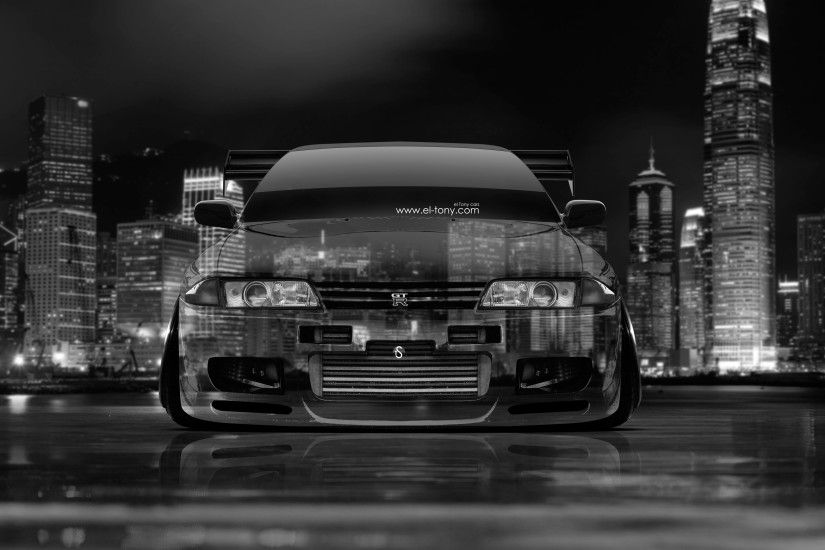 Nissan Skyline GTR R32 JDM Front Crystal City