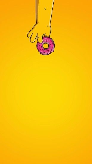 Homer Simpson Donuts, Bart Simpson, Apple Watch Wallpaper, Simpson Wallpaper  Iphone, Iphone