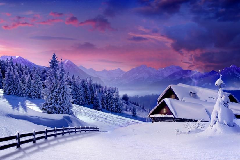 top winter backgrounds 1920x1200 for 4k