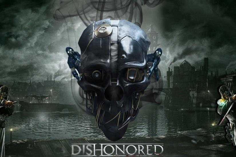 new dishonored 2 wallpaper 2560x1440