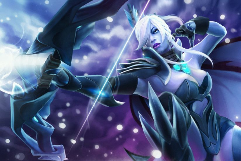 Lovely Dota 2 Loading Screen Drow Ranger Wallpapers Hd Desktop and