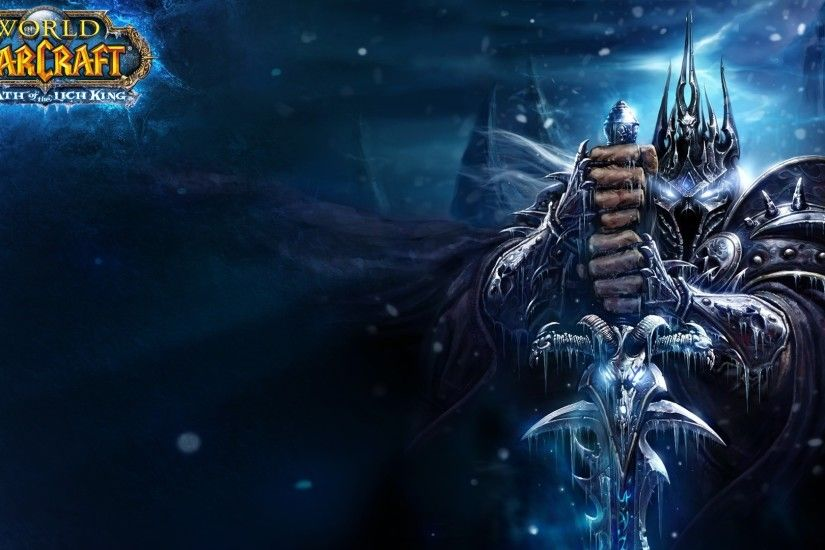1920x1080 Wallpaper warcraft, lich king, sword, cold, hands